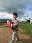 Les enfants d'un orphelinat en Mongolie.