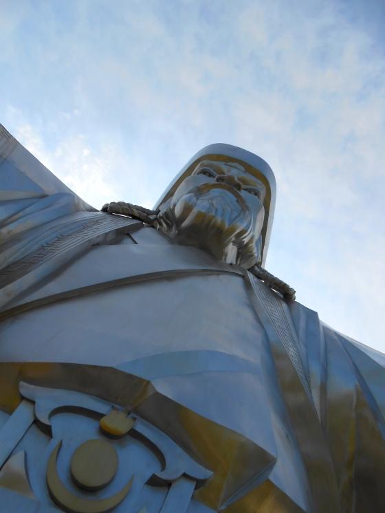 L'imposant Genghis Khan. Le 05 août 2012.