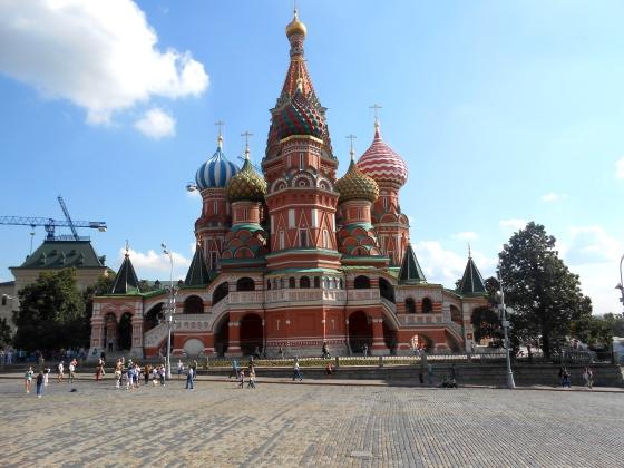 cathèdrale de Basile Le Bienheureux. Moscou